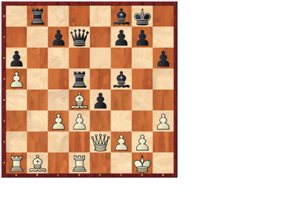 Black to play and win - Carlsen