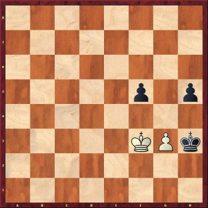 With Black to play, there is absolutely no way to make progress. Keep this position in your mind!